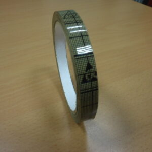 Rotoli nastro adesivo ESD largh. 12mm. X 33m.